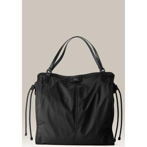 BURBERRY Black Buckleigh Nylon Travel Tote Bag